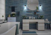 цвят за плочките в банята
